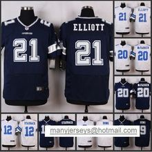 HOT Elite men 21 Ezekiel Elliott 20 Darren McFadden 12 Roger Staubach 9 Tony Romo 8 Troy Aikman D-4(China (Mainland))