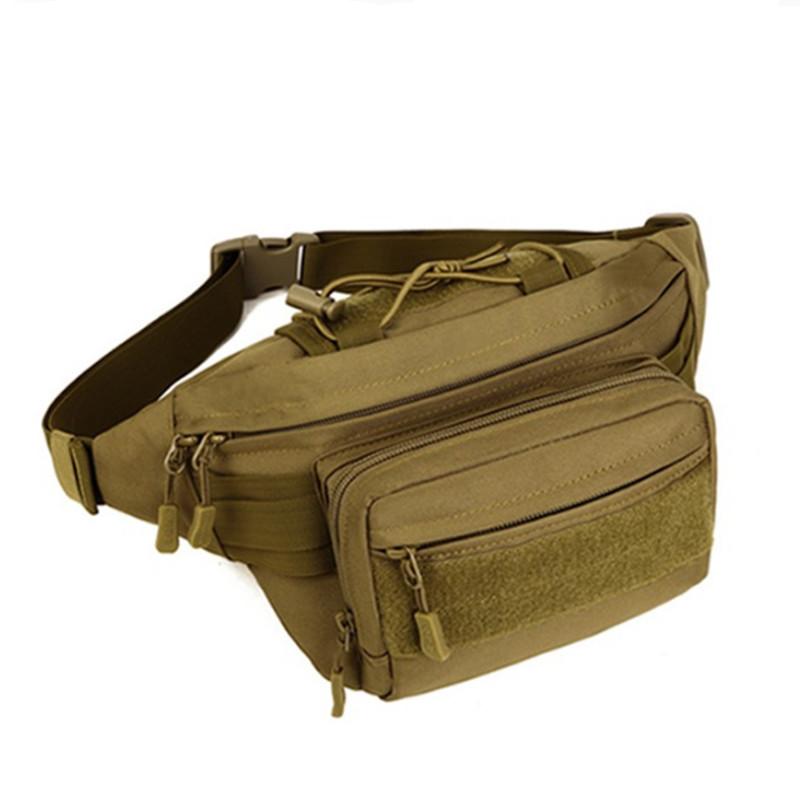 Molle Waist Bag Waterproof Nylon Military Waist Pack Fanny Pack Women Men Belt Bag Travel Hip Bum Bag Wallet Purse Phone Pouch(China (Mainland))