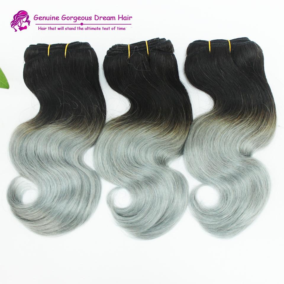 Grade 6A Peruvian Funmi Curly virgin hair 3Pcs/lot, Ombre 1b/gray cheap curly hair extension wholesale Peruvian hair bundles <br><br>Aliexpress