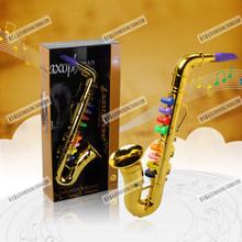 Дети Мини Музыкальный Инструмент игрушка реквизит, детские музыкальные игрушки, игрушка saxphone Ребенок Подарок