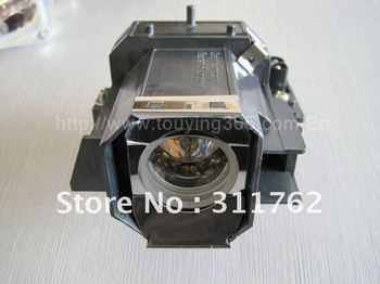 Projector lamps with cage/housing ELPLP39, used for Epson EMP-TW1000, projector lamp module