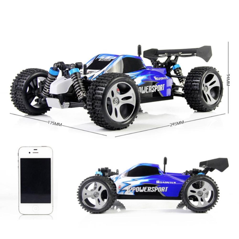 Фотография New 4WD 2.4G High Speed Radio Remote Control RC SUV Car Road Racing 45km/h Toy Gift Sell Hotting Fashion