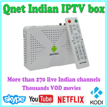Newest Indian font b Iptv b font HD TV Box Android tv box support Wifi XBMC