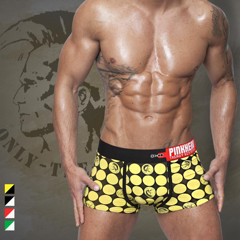 4pcs mens underwear boxer shorts sexy cotton wholesale panties XXLplus-size sleepwear pants pentis shorter pinkhero brand cheapОдежда и ак�е��уары<br><br><br>Aliexpress