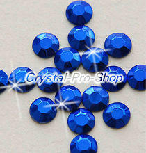 Buy 144 pieces Blue 2mm 6ss ss6 Faceted Hotfix Rhinestuds Iron Round Beads new Aluminium Metal Design Art DIY (u2m-Blue-1 gr) for $3.77 in AliExpress store