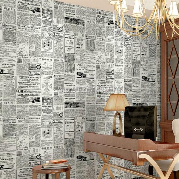 achetez en gros journal papier peint en ligne des grossistes journal papier peint chinois. Black Bedroom Furniture Sets. Home Design Ideas
