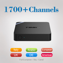 Buy 6Months Free IPTV Arabic Europe T95N 2/8G Amlogic S905X Android 6.0 TV Box Quad Core 2.4GHz WiFi HDMI USB 2.0 Smart TV Box for $71.49 in AliExpress store