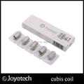 AliExpress Product-ID 32597648802: Original Joyetech Cubis Coils SS316 0.5ohm 1.0ohm Clapton 1.5ohm Replacement Coil Head for Cubis Atomizer 5pcs, lot. Offer:$10.50; Lot:5 pcs