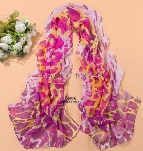 2014 New Fashion Women Spring,Summer,Autumn,Winter Accessories and Silk Chiffon Scarf Pashmina Zebra Leopard Shawl Tippet Scarve(China (Mainland))