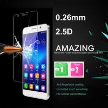 Премиум закаленное стекло для Huawei чести 6 анти-худых скреста 9 H взрыв — доказательство 0.25D дуги края защитная пленка для Huawei 6 5.0 «