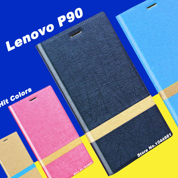 lenovo p90 case cover New wave flip leather case for lenovo p90 leather case cover Hit