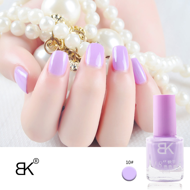 Fragrance Stamp Nail Polish Quickly Dry Lacquer BK Brand 42 Color Optional 8ml Professional Nail Art Paint Enamel Cosmetics(China (Mainland))
