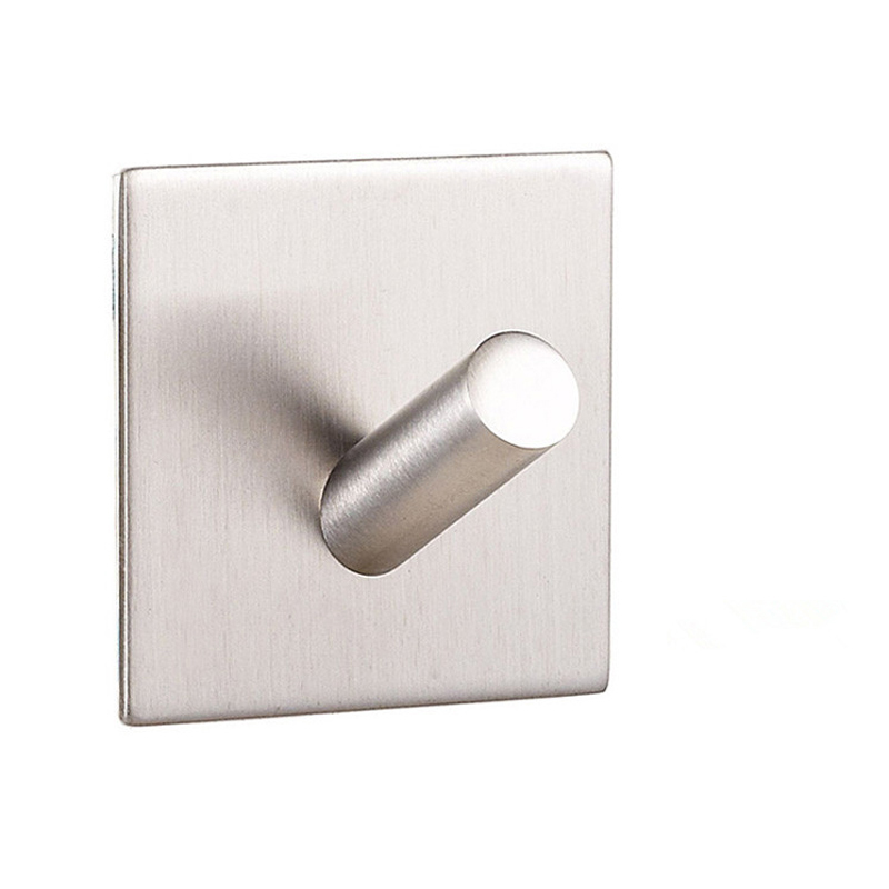 Bathroom Wall Hook New Style Modern Style Single Stainless Steel Robe Hooks W