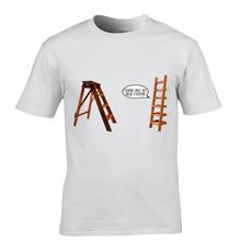 Fashion Printed T Shirts Men's You're Pas Mon Pere TV Film Jeu De Mots Drole Noel Anniversaire Crew Neck(China (Mainland))