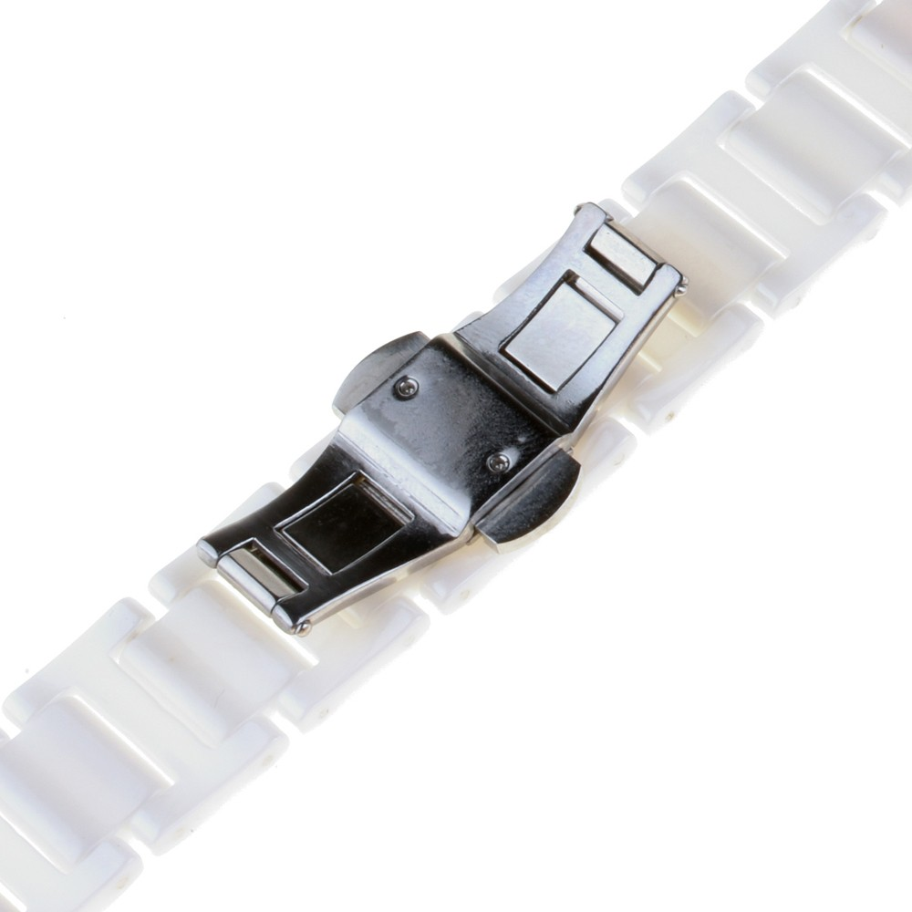 18 мм 20 мм Полный Керамические Часы Группа для Гамильтона Ремешок Ремешок Замена Ссылка Браслет + Обновлен Инструмент + Pin Черный Серебристый