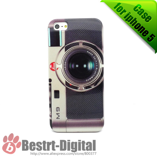 1Pcs Only, Hot Camera Design, Hard case for iphone 5/5S, Best Protection, Best sell, Old Fashion, Cell phone case(China (Mainland))