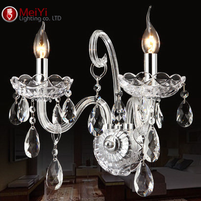 Luxury Wall Sconce Lighting European-style wall lights mirror front lamp bedside lamp crystal lamp Wall lamp bedroom(China (Mainland))