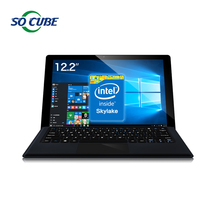 Original Cube i9 2 in 1 Tablet PC Windows10 Skylake Core M3-6Y30 12.2inch 1920*1200 IPS Screen 4GB RAM 128GB ROM USB 3.1 Type C(China (Mainland))