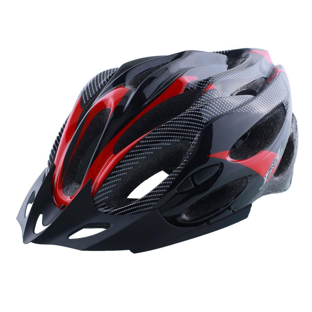 Hot Sale Cycling Helmet Adjustable Bicycle Bike Road Mountain Safety Shockproof ultralight with Visor Red/Yellow/Blue<br><br>Aliexpress