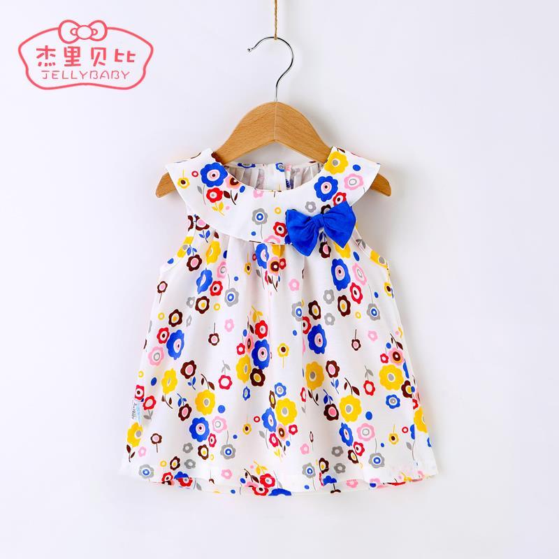 2015 girl t-shirt girls chiffon short sleeve blouses all match turn down collar shirt girl polka dot Korean style casual fashion(China (Mainland))