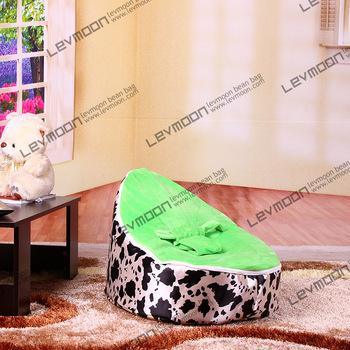 FREE SHIPPING baby bean bag cover with 2pcs green cover baby beanbags kid's bean bag chair baby bean bag sofa()