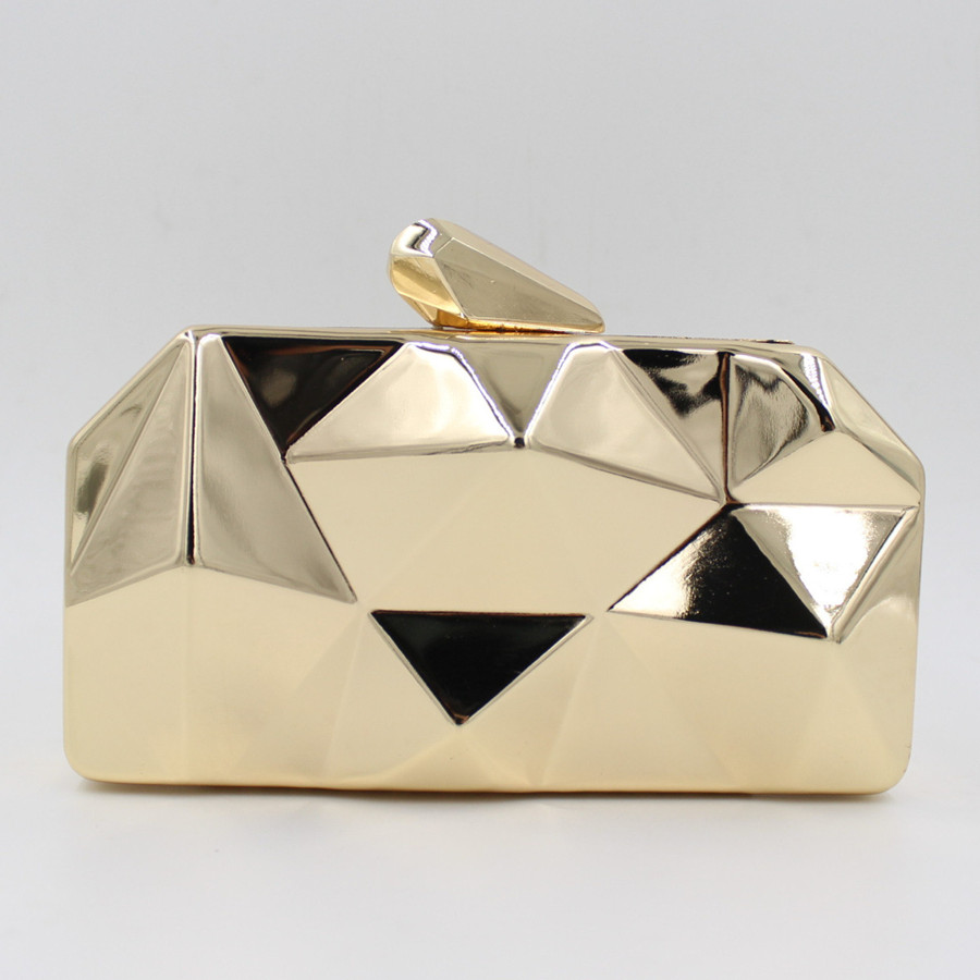 Ladies Clutch Wedding Party Bags Chain Shoulder Messenger Bags Irregularly Shaped Mini Evening Bags(China (Mainland))