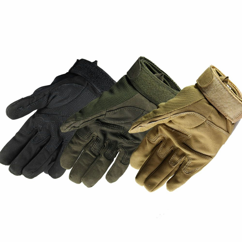 Hot Outdoor Sports Military Tactical Airsoft Hunting Motorcycle Bicycle Cycling Windproof Armed Tactical Full Finger Gloves(China (Mainland))