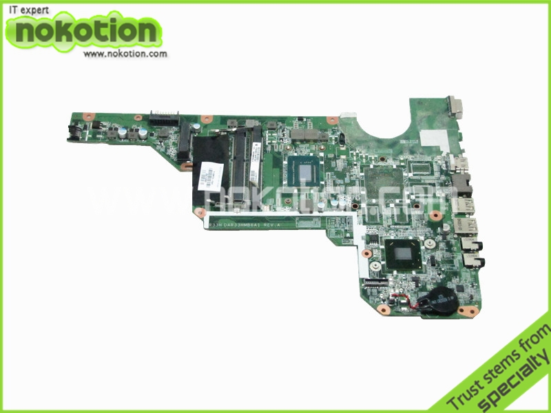 laptop motherboard For HP Pavilion G6 G6-2000 i3-3110M 710873-001 DDR3 Mother Board full tested(China (Mainland))