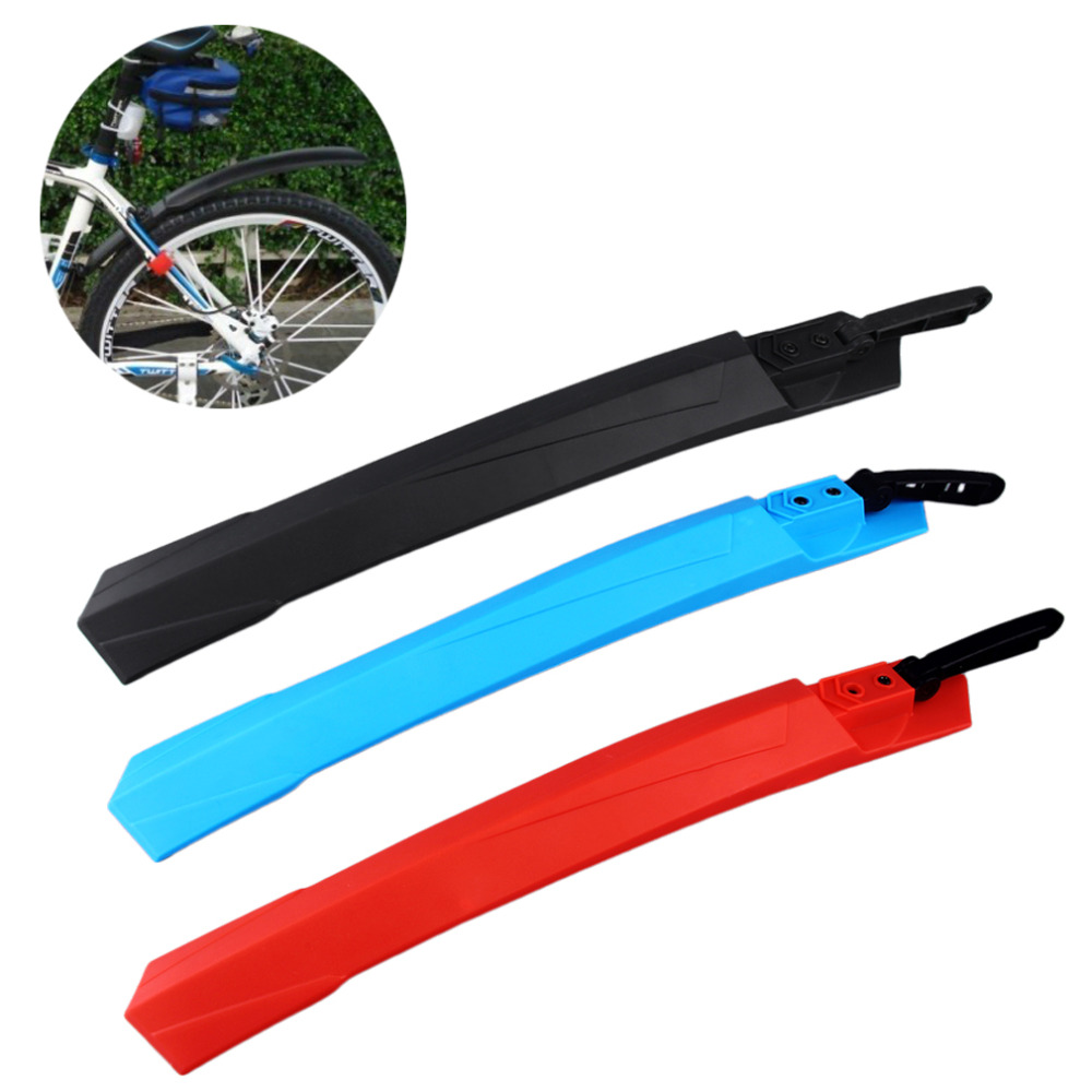 3 Color Mountain Bike Mudguard Front Rear Quick Release Cycling Bicycle Fenders Wings Stand Rack Mud Guard Accessories hot(China (Mainland))