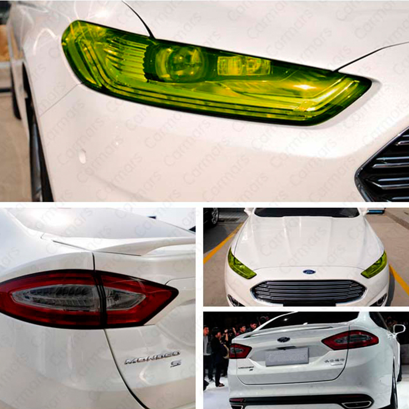 Free Shipping 12 Colors 30cm x100cm Auto Car Light Headlight Taillight Tint Vinyl Film Sticker Hot