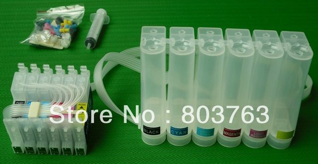 CISS (continuous ink supply system) with two set ARC chip for Epson R210/R220R230/R230X/RX630/R200/R300/R320/RX500/RX600