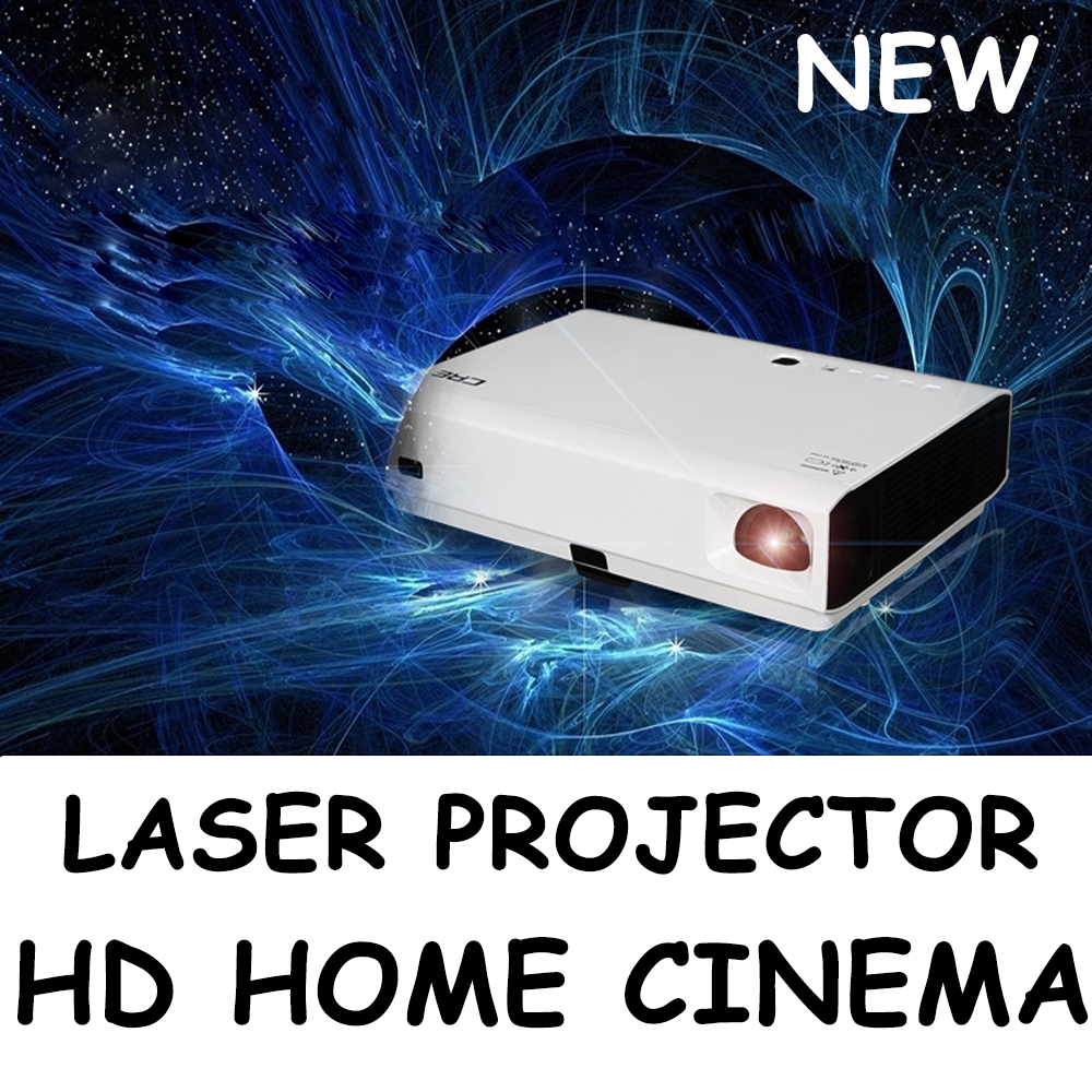 Amazing Laser projector Auto keystone correction All-alloy Optical Engine Material Full HD 3D video HDMI for home theater(China (Mainland))
