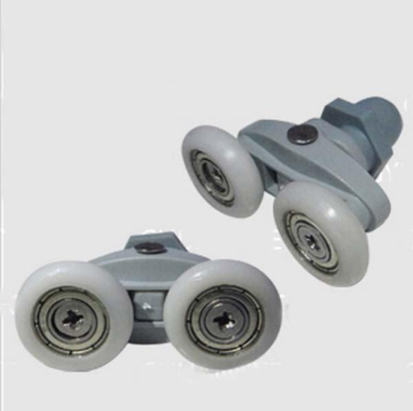 Гаджет  Shower room pulley bathroom roller glass door wheels arc shower room wheel 22mm 23mm 25mm KF265 None Строительство и Недвижимость