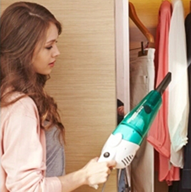 Hot sell New Ultra Quiet Mini Home Rod Vacuum Cleaner Portable Dust Collector Home anti-brushAspirator HEPA Filter,Handheld AA(China (Mainland))