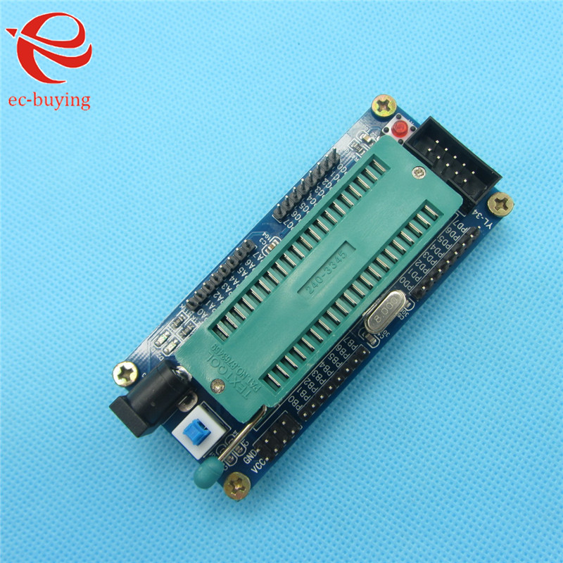 AVR Mini System Development Board ISP Atmega16 Minimum System Board(China (Mainland))