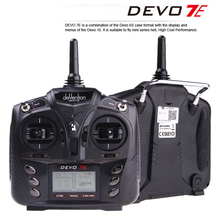 Original Walkera DEVO 7E Transmitter 2.4G 7CH DSSS Radio Control Transmitter for RC Helicopter Airplane Model 2 And Model 1