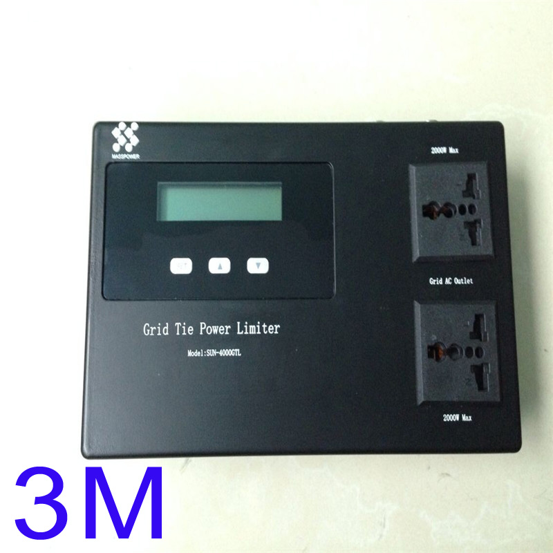 External Limiter for sun solar grid tie inverter 3m cable(China (Mainland))