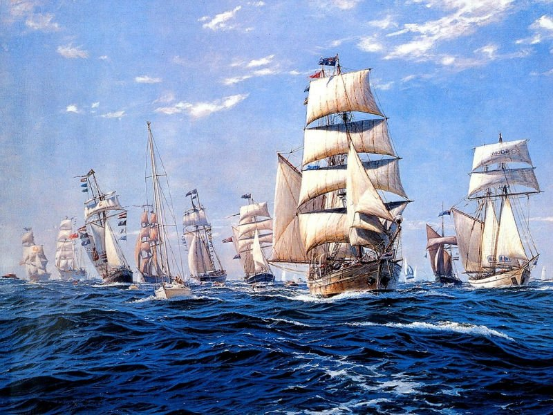 Free shipping small size wall gobelin tapestries,nautical style picture(China (Mainland))