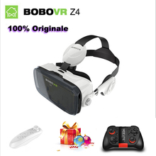 Original BOBO VR Z4 Virtual Reality 3D BOBOVR Z4 with Headset+ Reality 3D VR Glass Private Theater for 4 - 6.0 inches Smartphone(China (Mainland))
