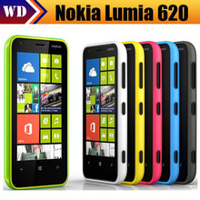 Nokia 620 Original Unlocked GSM 3G Windows Phone 8 Dual-Core WIFI GPS 5MP 8GB Multi-Colors(China (Mainland))