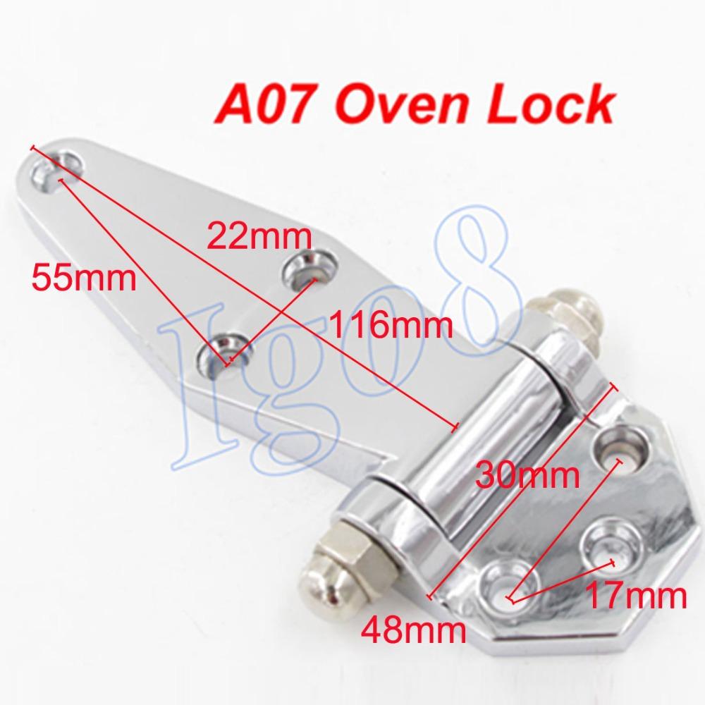 2PCS Zinc Alloy A07 Oven Door Lock Hinge Plane Hinges(China (Mainland))