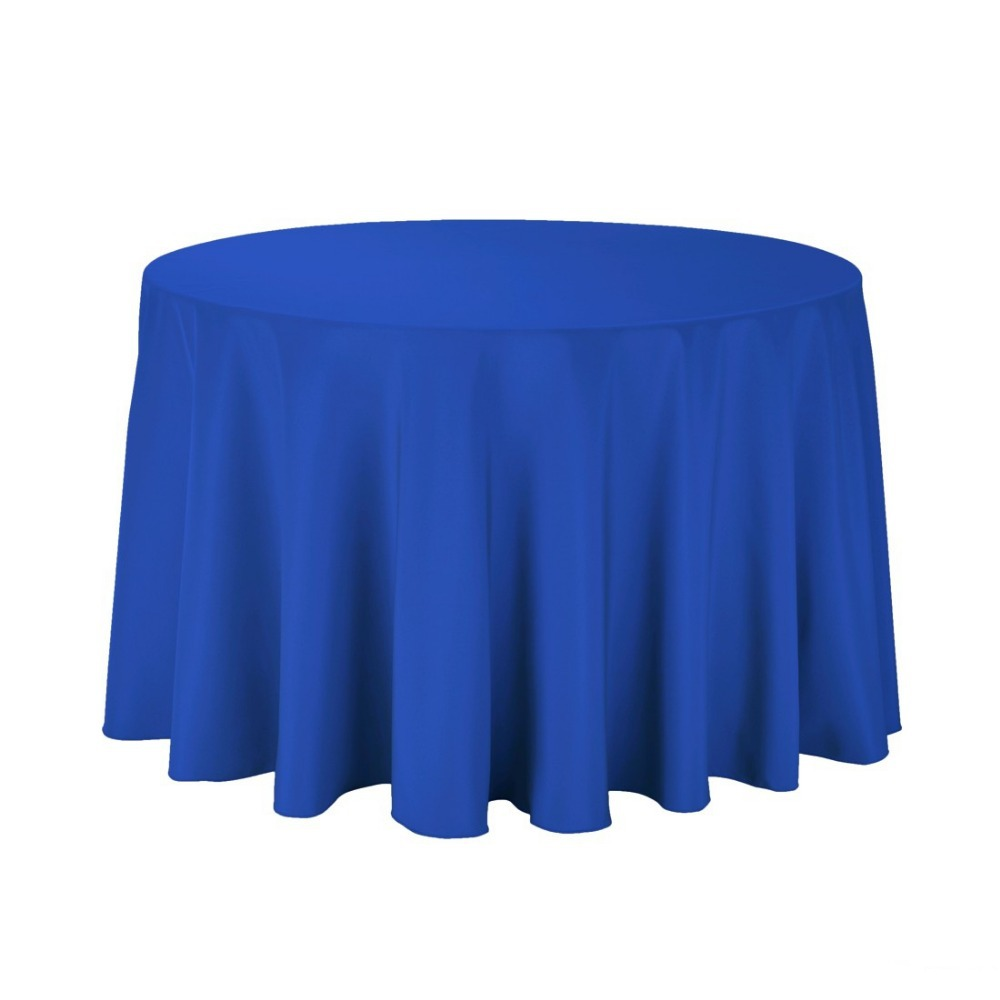 Fedex IE 108 in./280cm Round Polyester Tablecloth ROYAL BLUE for Wedding Event Banquet Party 20 Pcs Lot(China (Mainland))