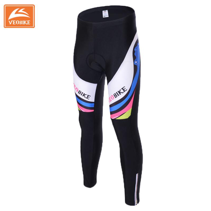 VEOBIKE 2016 Professional Long Cycling Pants Women GEL 3D Padded High Elasticity Bike Pants Cycling Clothing Mtb Trousers S~XXL<br><br>Aliexpress