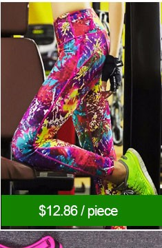Women Breathable Yoga Fitness Sports Pants Elastic Gym Outdoor Leopard Mesh Splicing Running Leggings Leopard Trousers Tights