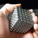 Free Shipping Silver 216 NEOCUBE BALLS MAGNETIC NEO NEODYMIUM CUBE MAGNET BALLS