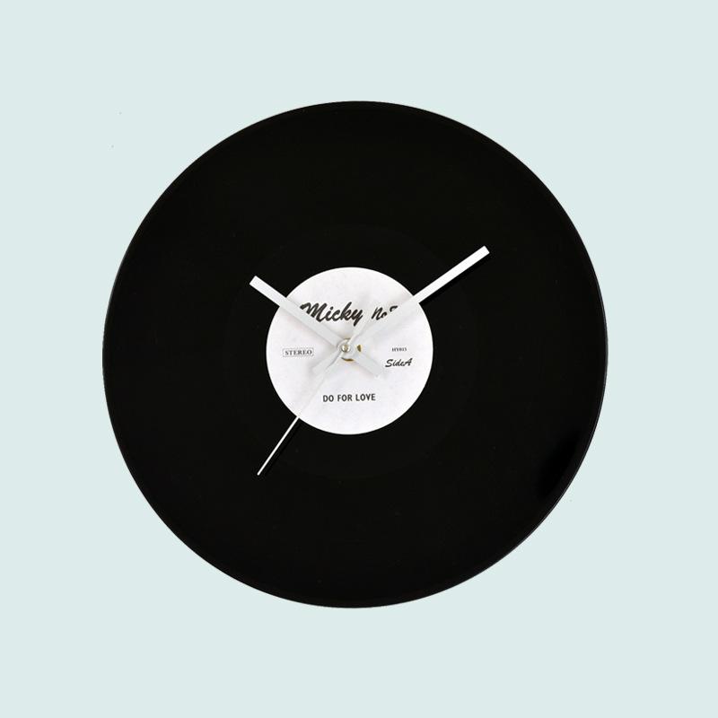 Wanduhren Modern Design Wanduhr Edge Clock Big Moderne: Super Mute Digitale Wandklok Led Woonkamer Decoratieve
