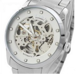 ! New fashion automatic mechanical watches, men watches grade, military watches,Stainless steel watch
