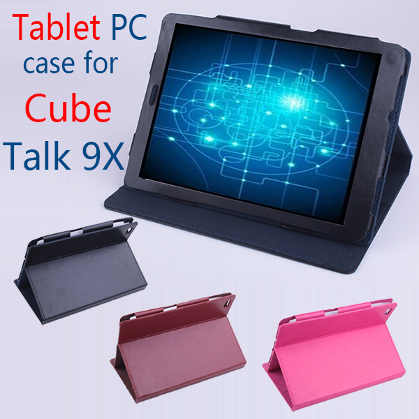 Original Cube Talk 9X Flip Utra Thin Leather Case for CubeTalk 9X 2014 New 9.7 inch Tablet PC,Cube Talk 9X Case(China (Mainland))