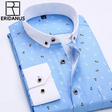 Buy 2016 Men Retro Floral Printed Shirts Fashion Classical Man Long Sleeve Slim Fit Comfort Soft Cotton Leisure Styles Shirt M035 for $7.99 in AliExpress store