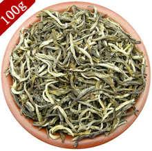 Buy Top! Top! 100g Jasmine green tea bud tea super Biluochun Mingqian spring tea fragrant tea health keeping food for $6.45 in AliExpress store